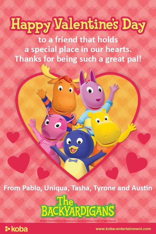 Valentine's Day Fun With The Backyardigans