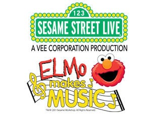 Sesame Street Live Elmo Makes Music Abbotsford & Vancouver