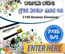 Get Your MBS on Amazon Giveaway