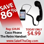 86% Off a Coco Phone – The Retro Handset