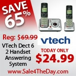 VTECH Dect 6 Digital Answering System Sale