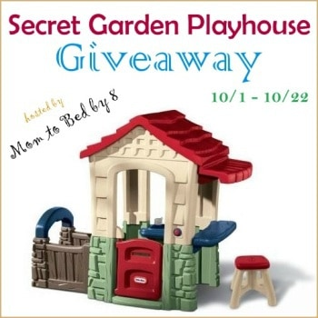 Secret Garden Playhouse Giveaway