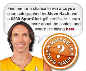 Where Is Steve Nash