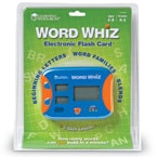 Word Whiz Electronic Flash Card Review & Giveaway