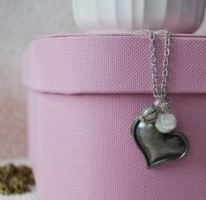 Heart Locket - Silver