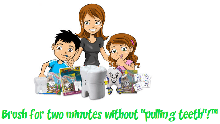 Getting Kids to Brush Their Teeth by Making It Fun Twooth Timer Twooth Timer