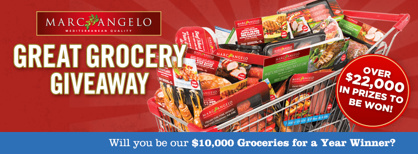 MarcAngelo Great Grocery Giveaway
