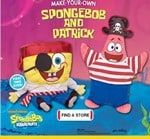 SpongeBob & Patrick Now At Build A Bear Workshop