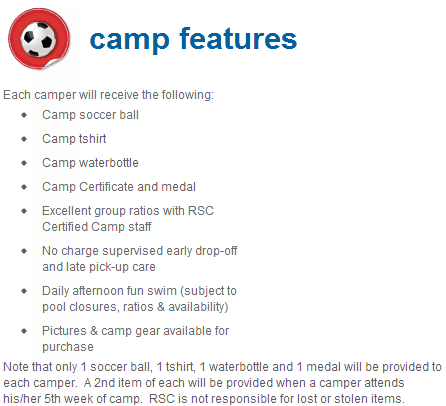 Camp Features