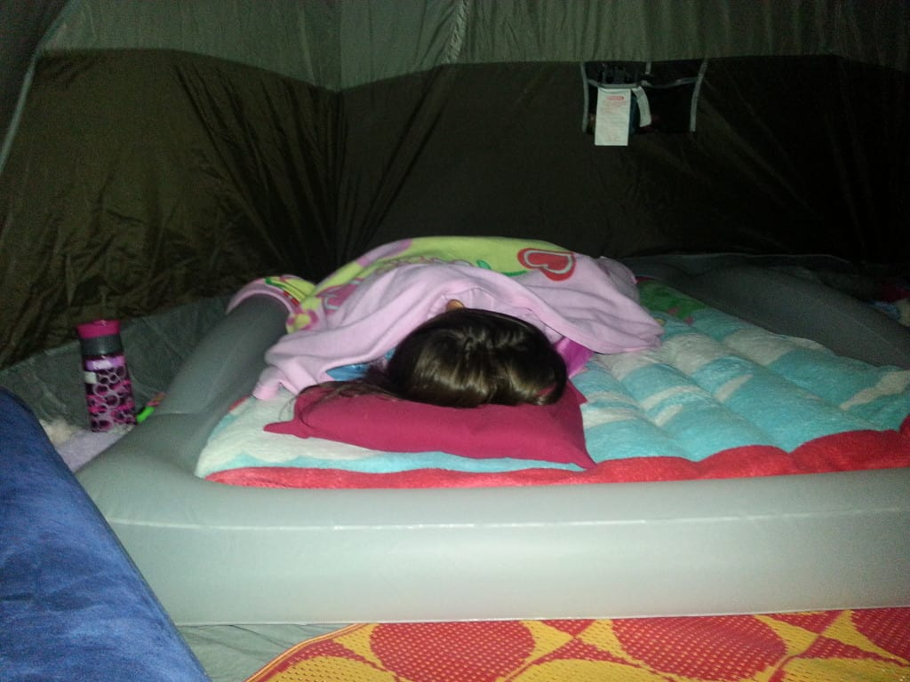 My Little One Sounds Asleep