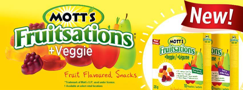 Mott's Fruitsations + Veggie