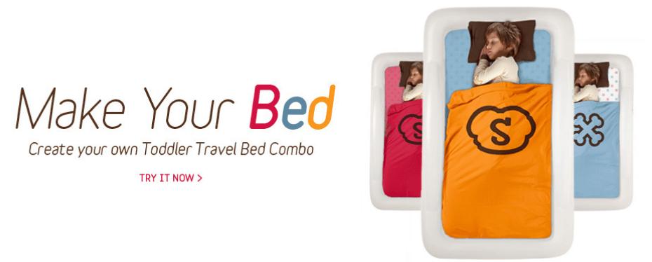 The Shrunks Tuckaire Kids Travel Bed