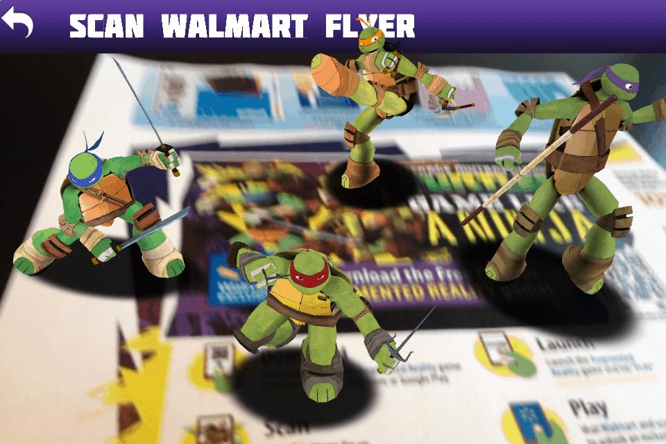 WalMart TMNT Flyer