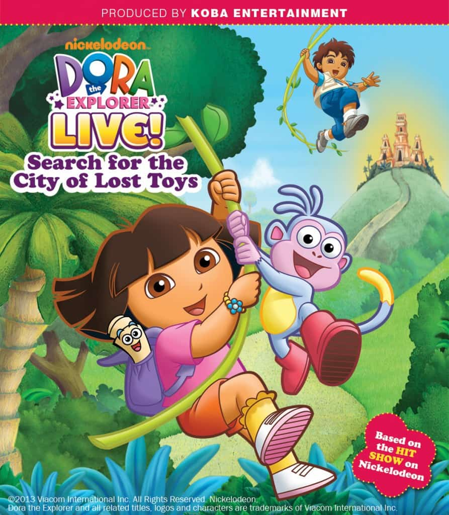 Dora the Explorer Giveaway