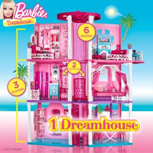 The Barbie Dreamhouse