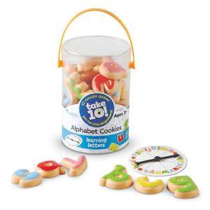 Take10 Alphabet Cookies