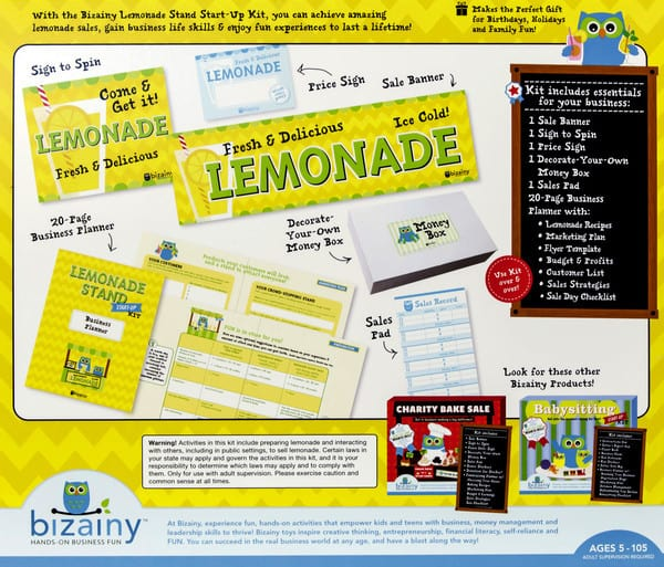 Business with no capital investment lemonade stand business plan business and money management using hands on experiences one thing i really loved about the lemonade stand kit was the lemonade recipes they included accmission