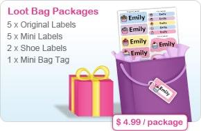 Oliver's Labels Loot Bag Packages