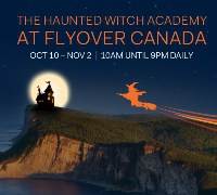 The Haunted Witch Academy at FlyOver Canada