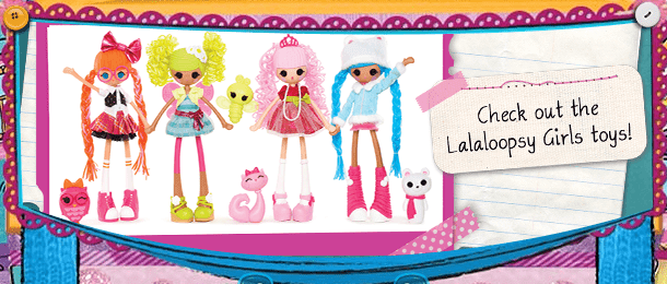 Lalaloopsy Girls Dolls   Stitched Together... Friends Forever