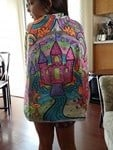 Princess Colour Me Cape
