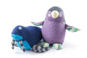 Vancouver Aquarium GiftShop Cate and Levi Penguin Walrus Stuffy