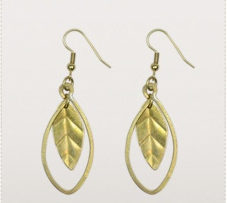 Dangling Leaves Earrings   Ten Thousand Villages Canada