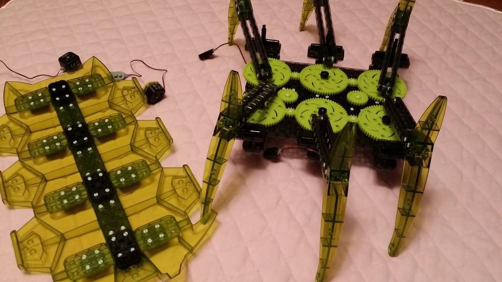 HexBug assembly