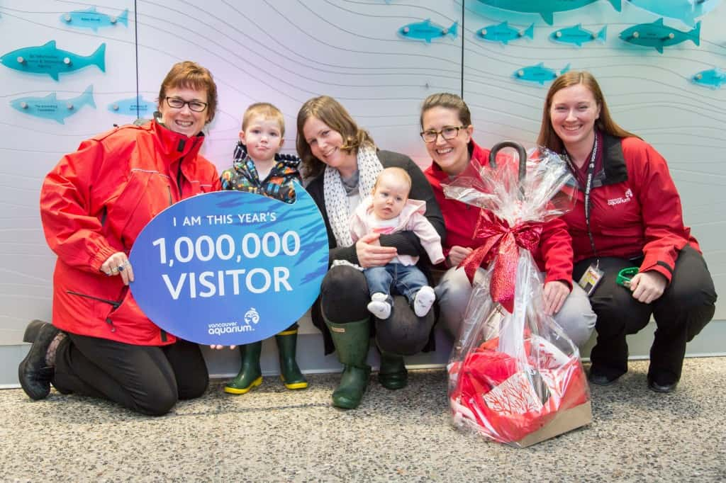 VanAqua-2014-One-Millionth-Visitor-1