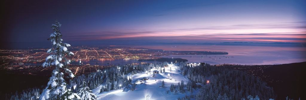 Vancouver - Grouse Mountain - Night LR - Credit Tourism Vancouver