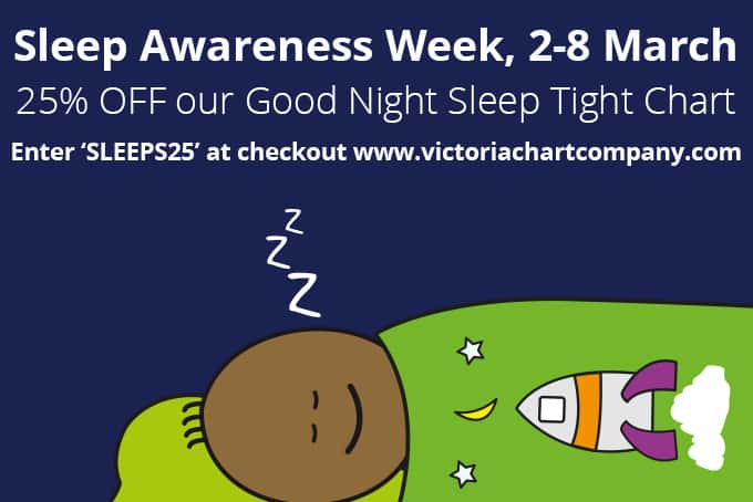 victoria chart company reward charts sleep awareness week