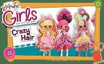 Lalaloopsy Crazy Hair dolls