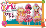 Lalaloopsy Crazy Hair Doll Confetti Carnivale