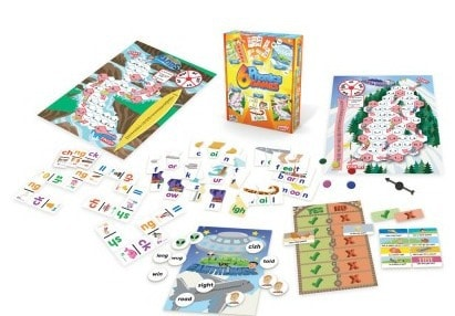 6 Phonics Games out of box