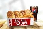 KFC $5 Fill-Ups