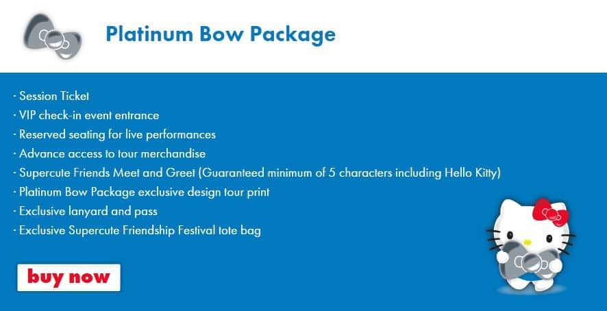 Platinum Packages at Sanrio