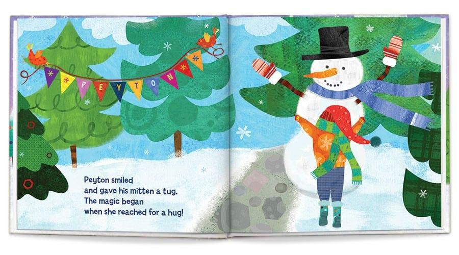 Magical Snowman inside