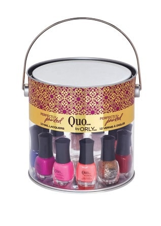 Quo by ORLY Perfectly Painted 12 Mini Nail Lacquers Set