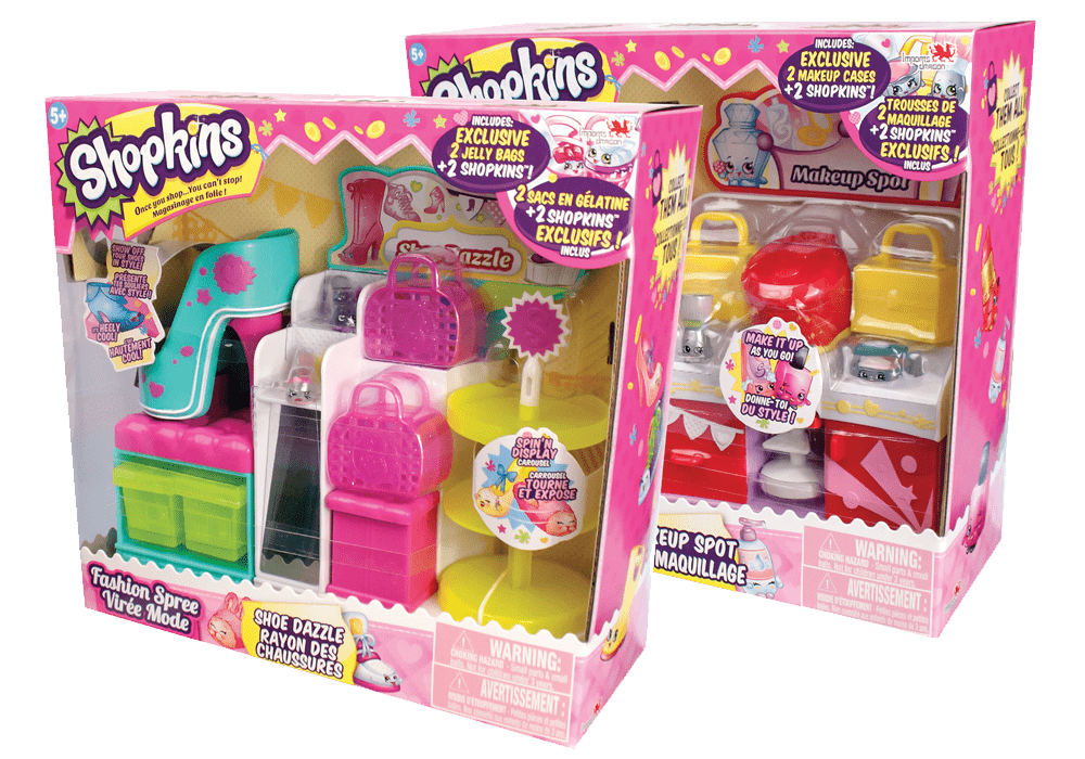 Shoe dazzle playset