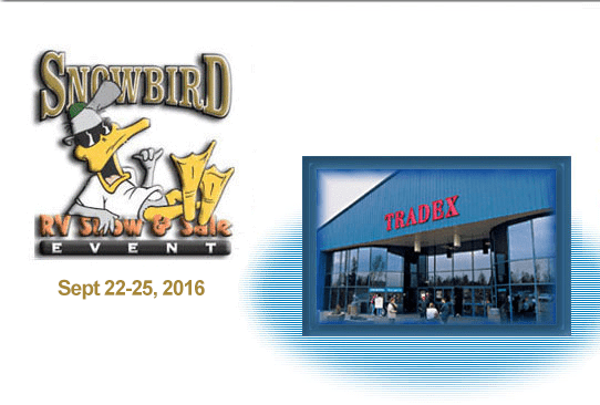 Snowbird RV Show & Sale Event 2016