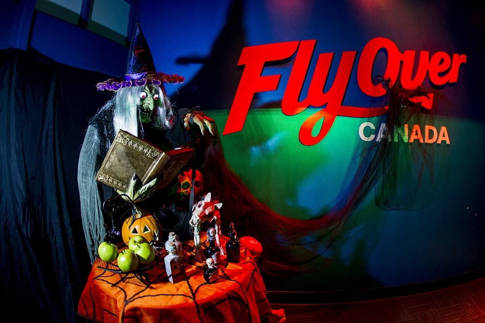 Halloween at FlyOver Canada