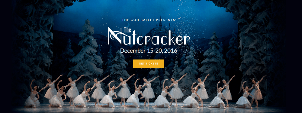Goh Ballet's The Nutcracker – Vancouver