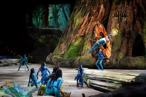 Photo Credit:  Cirque du Soleil - Toruk