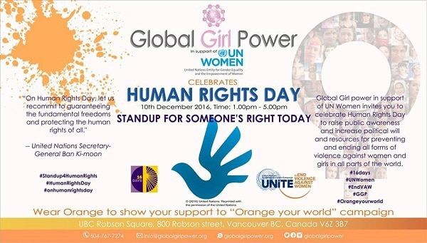 Celebrate Human Rights Day on December 10, 2016