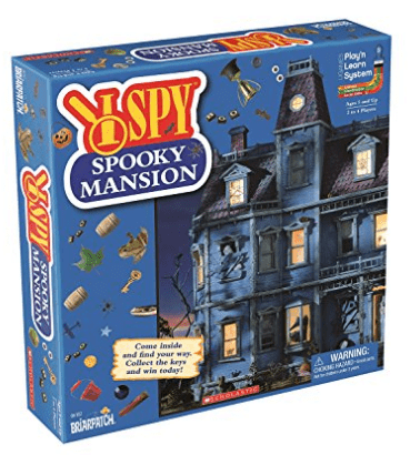 I Spy Spooky Mansion Game