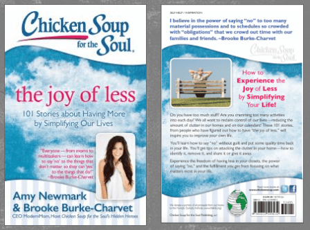 Chicken Soup for the Soul – The Joy of Less