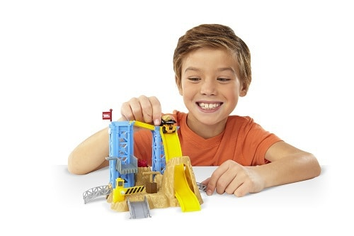 Tonka TINYS Blast And Dash Quarry Playset