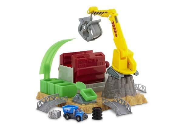 Tonka TINYS Car Crush Escape Playset
