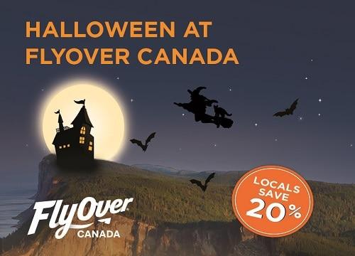 FlyOver Canada Halloween 2017
