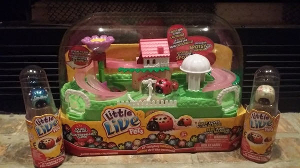 Lil' Ladybug Garden Playset